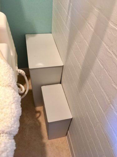 トイレ掃除収納無印のゴミ箱