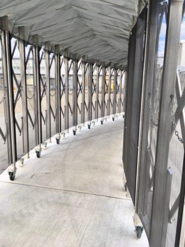 セントレア第2ターミナルボーディングルーフ
