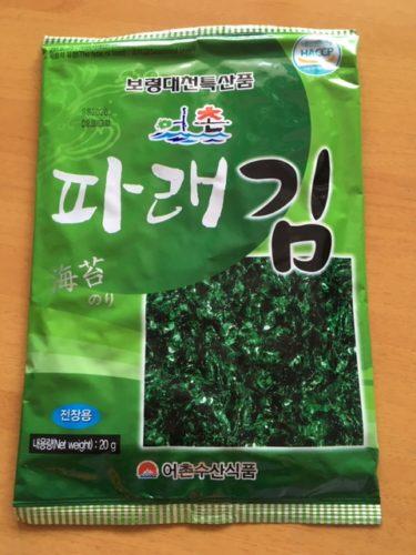 おススメ韓国海苔