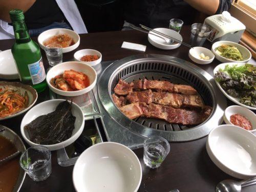 韓国味付きカルビ