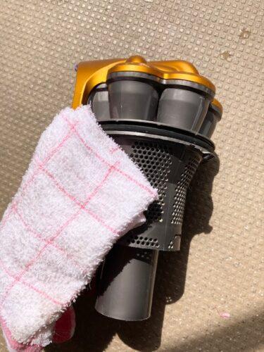 ダイソン掃除機の掃除